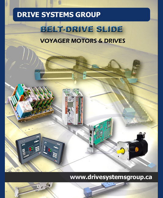 Catalog:  Performance Matched Voyager Motors, Drives & Control Packages